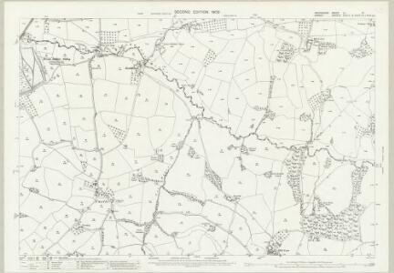 Devon LX.15 (includes: Hawkchurch; Thorncombe) - 25 Inch Map
