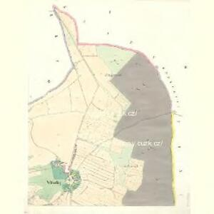 Wltschy (Wlčy) - c8667-1-001 - Kaiserpflichtexemplar der Landkarten des stabilen Katasters
