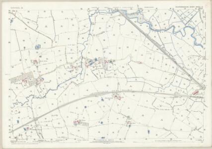 Staffordshire XXXVII.10 (includes: Castle Church; Cresswell; Seighford; Stafford) - 25 Inch Map