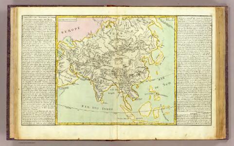 L'Asie lacs, fleuves, rivieres, montagnes.