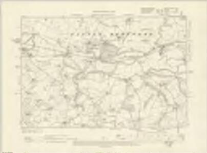 Worcestershire XVIII.NE - OS Six-Inch Map