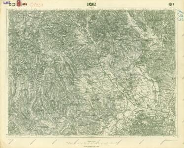 III. vojenské mapování 4663