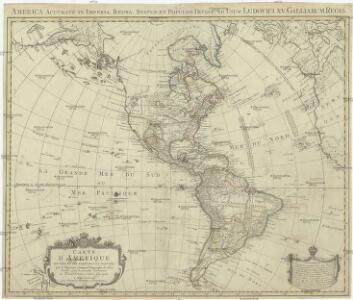 Carte d'Amerique