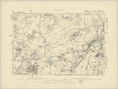 Herefordshire XXXVI.SE - OS Six-Inch Map