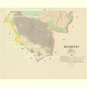 Kramolin - c3504-1-003 - Kaiserpflichtexemplar der Landkarten des stabilen Katasters