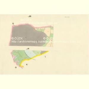 Hluboka - c1893-1-008 - Kaiserpflichtexemplar der Landkarten des stabilen Katasters