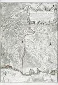 Le cours du Rhin de Bâle à Hert près Philisbourg contenant l'Alsace et partie du Brisgau, 5