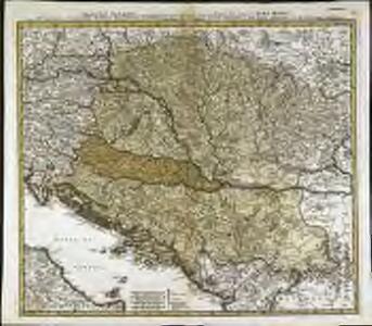 Danubii fluminis (ab urbe Lentia usq[ue] et ultra Bydenam urbem cum influentibus fluviis delineati) pars media