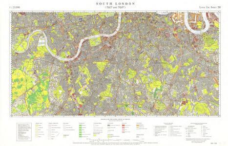 Great Britain [Second land utilisation survey] 1:25,000