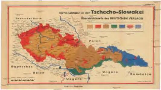 Nationalitäten in der Tschecho-Slowakei