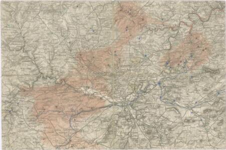 Spezial Karte von Böhmen