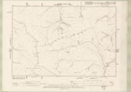 Peebles-shire Sheet X.SE - OS 6 Inch map