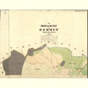 Muggrau - c4814-1-001 - Kaiserpflichtexemplar der Landkarten des stabilen Katasters