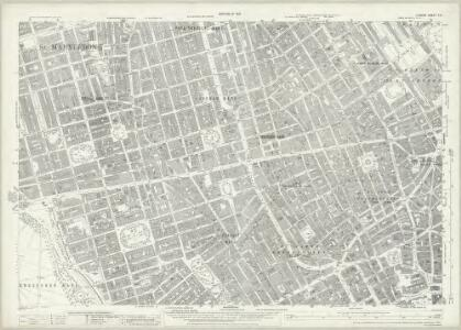 London (1915- Numbered sheets) V.9 (includes: City Of Westminster; St Marylebone; St Pancras) - 25 Inch Map