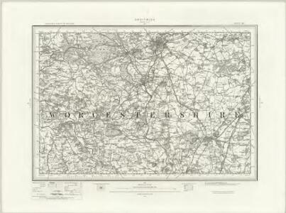 Droitwich (Outline) - OS One-Inch Revised New Series