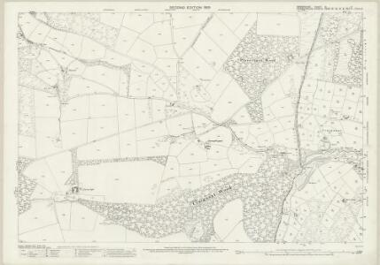 Shropshire XI.4 (includes: Glyntraean; Selattyn; Weston Rhyn) - 25 Inch Map