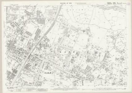 Cheshire IX.11 (includes: Sale) - 25 Inch Map
