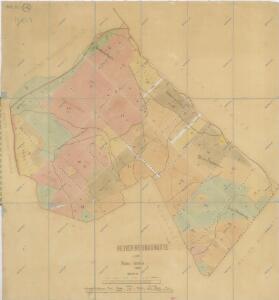 Hospodářská mapa revíru Novosedlské Hutě