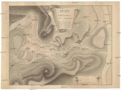 Plan der Stadt Carlsbad u. ihren Umgebungen