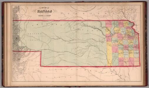 A New Map of Kansas. (38A)