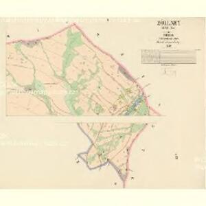 Zöllney (Coelna) - c0739-1-002 - Kaiserpflichtexemplar der Landkarten des stabilen Katasters