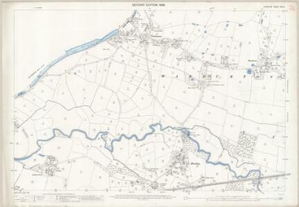Cheshire XVII.3 (includes: Lymm; Rixton with Glazebrook; Warburton) - 25 Inch Map