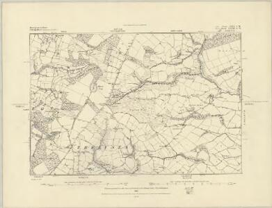 Leicestershire X.NW - OS Six-Inch Map