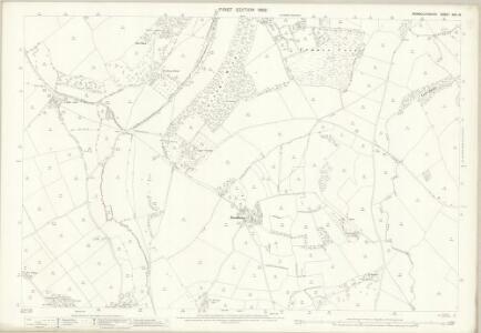 Monmouthshire XXX.13 (includes: Caer Went; Llanvihangel Near Roggiett; Magor; Undy) - 25 Inch Map