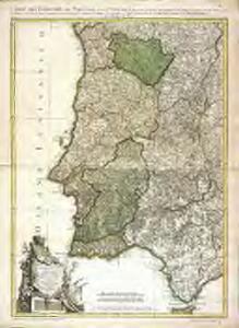 Mapa dos reynos de Portugal e Algarve