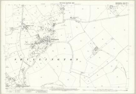 Bedfordshire XXVI.7 (includes: Pirton; Shillington) - 25 Inch Map