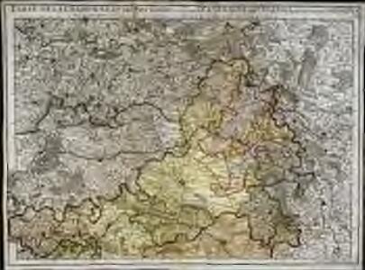 Carte de la Champagne et des pays voisins