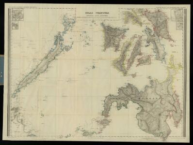 Islas Filipinas, 2a hoja  / por el teniente coronel de ingenieros D. Francisco Coello ; las notas estadisticas e historicas han sido escritas por D. Pascual Madoz