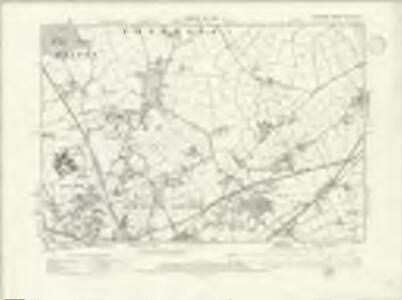 Cheshire XXXVIII.NE - OS Six-Inch Map