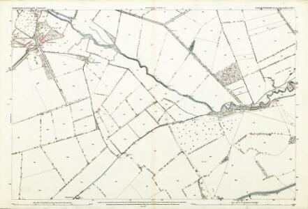Gloucestershire LXI.1 (includes: Kempsford; Lechlade) - 25 Inch Map