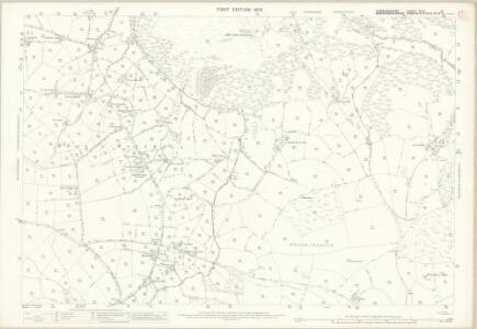 Denbighshire XLIII.16 (includes: Llanrhaeadr Ym Mochnant; Llanrhaeadr Ym Mochnant) - 25 Inch Map