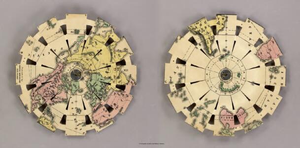 Townsend's Patent Folding Globe.