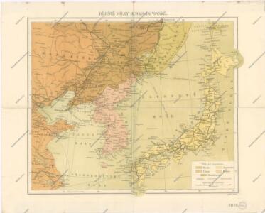 Dějiště války Rusko - Japonské