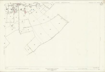 Northamptonshire XXVII.12 (includes: Hamerton; Old Weston; Winwick) - 25 Inch Map