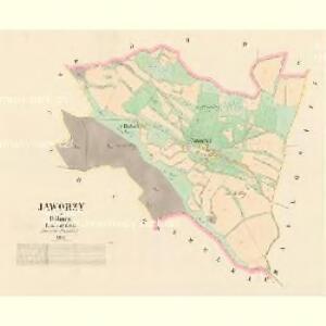 Jaworzy - c2801-1-001 - Kaiserpflichtexemplar der Landkarten des stabilen Katasters