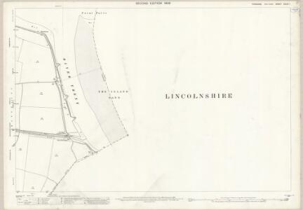 Yorkshire CCLIV.1 (includes: Adlingfleet; Alkborough; Garthorpe; Ousefleet) - 25 Inch Map
