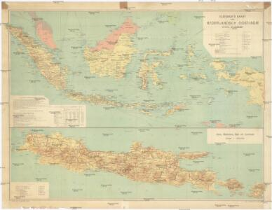 Sleeswijk's Kaart van Nederlandsch Oost-Indië
