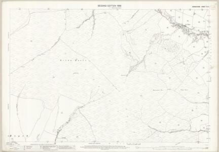 Derbyshire IX.2 (includes: Chapel en le Frith; Chinley Bugsworth and Brownside; Edale; Hayfield) - 25 Inch Map
