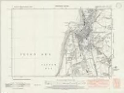 Cumberland LXVII.NW - OS Six-Inch Map