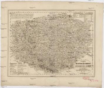 Charte vom Klattauer Kreise des Königreiches Böheim