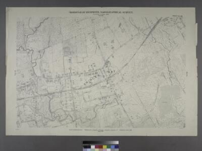 Sheet No. 90. [Includes Bayview Avenue, Amboy Road, Seguine Avenue, Fosters Road and Vernon Avenue in Prince's Bay.]; Borough of Richmond, Topographical Survey.