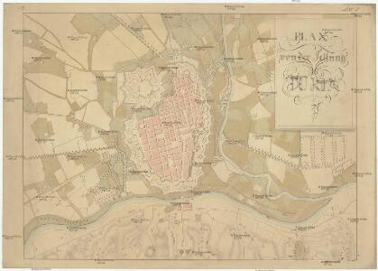 Plan von der Festung Turin