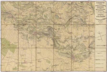 Gegend zwischen Volta, Guidizzolo, Solferino, Cavriana und Monzambano zum Behuf der Manoeuvrir-Rayons der Division des F.M.L. Baron Paumgarten im Jahre 1834