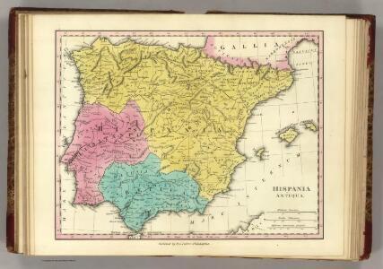 Hispania Antiqua.  (1826)