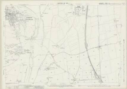 Lancashire XX.1 (includes: Burrow With Burrow; Casterton; Kirkby Lonsdale; Whittington) - 25 Inch Map