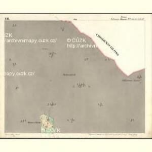 Vollmau Unter - c1279-1-007 - Kaiserpflichtexemplar der Landkarten des stabilen Katasters